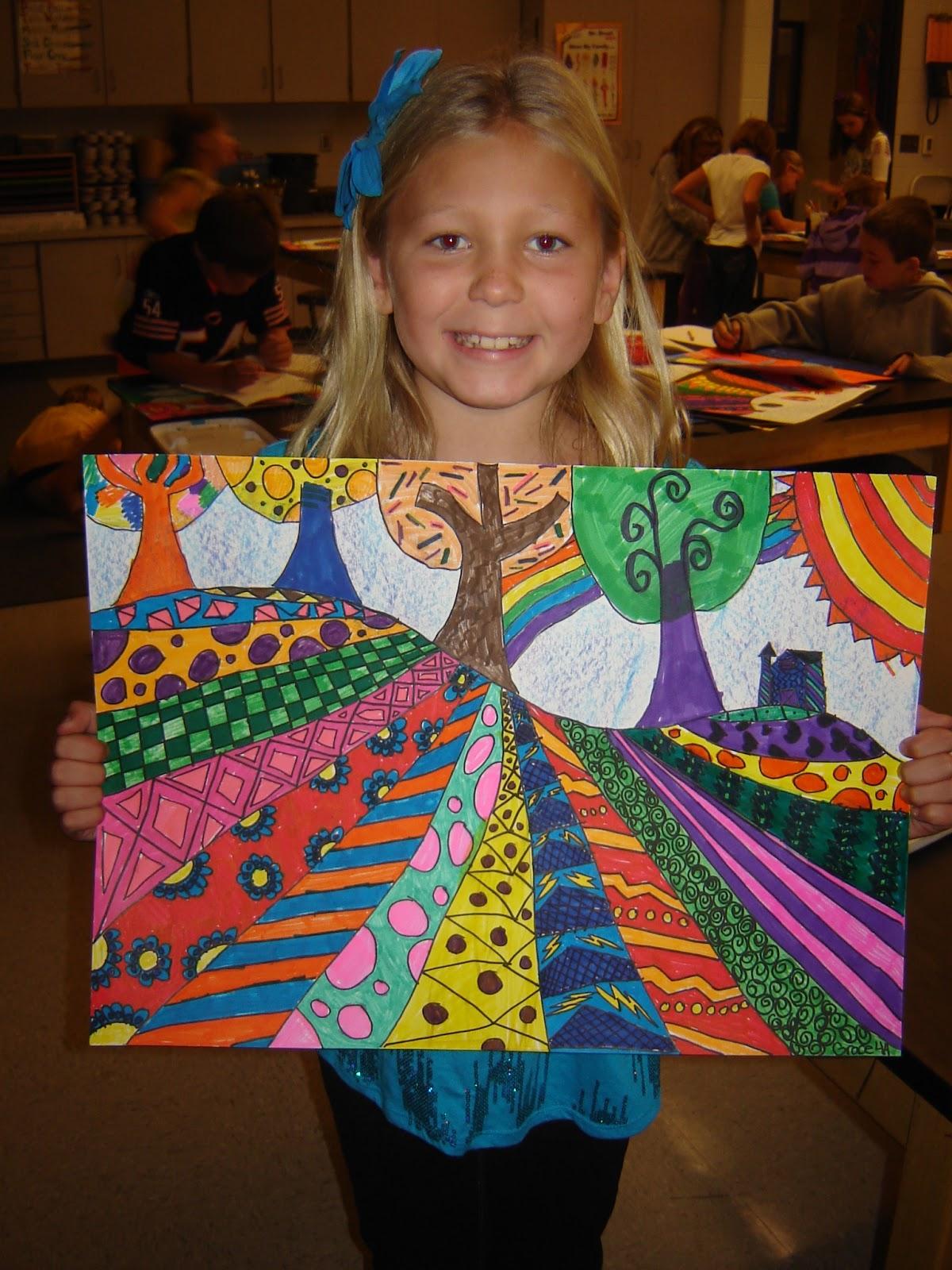 jamestown elementary art blog 4th grade heather galler folk art