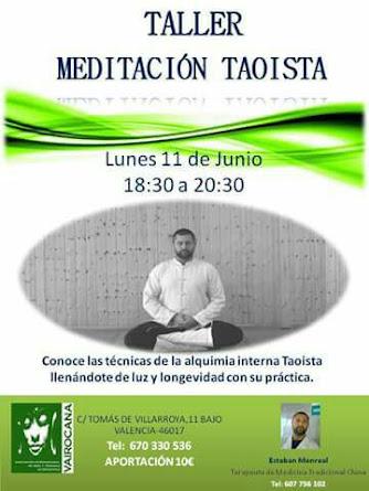 TALLER MEDITACIÓN TAOISTA