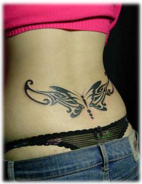 Маленькие татуировки для девушек на пояснице фото
