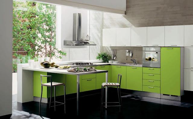 Consigli d'arredo: il colore verde nell'arredamento