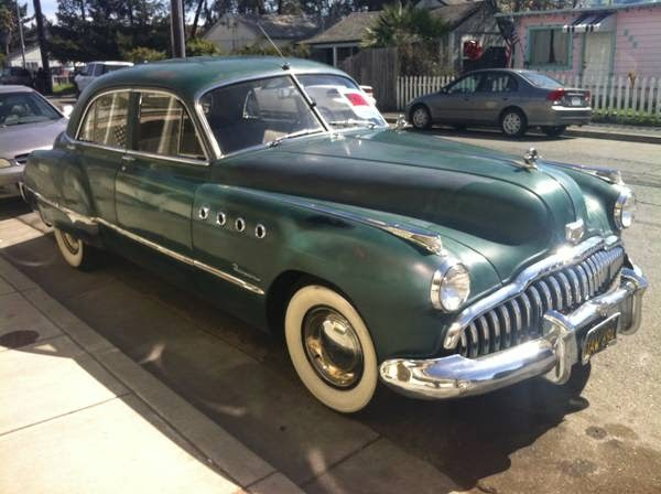 1949 buick roadmaster drives great survivor auto. Black Bedroom Furniture Sets. Home Design Ideas