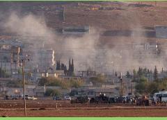La coalición golpea a los yihadistas en la frontera turca