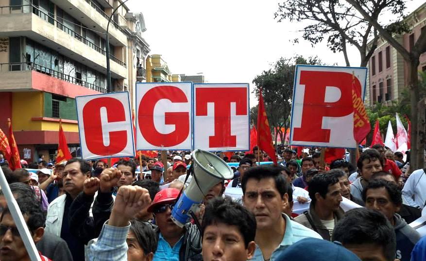 Resultado de imagen para protestas sindicales en peru