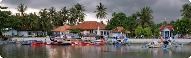 Dermaga Bandara Nusawiru Sungai Cijulang