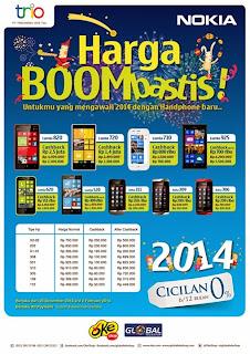 18 Nokia Harga Boombastis Promo sampai dengan Februari 2014