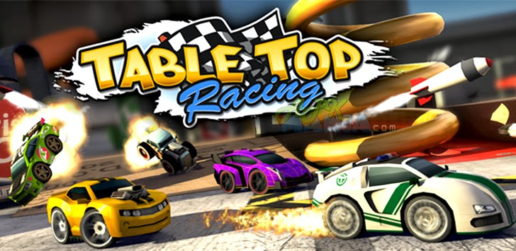 Table Top Racing MOD APK + DATA v1.0.5 Unlimited Money Hack