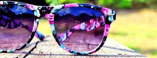 Pretty Sun Glasses large Facebook Cover