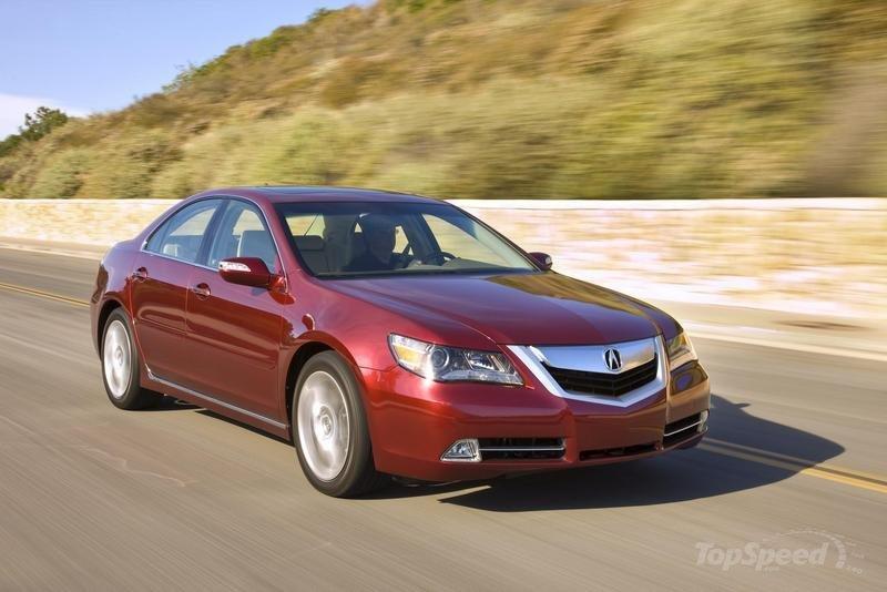 Top Speed Latest Cars 2010 Acura Rl