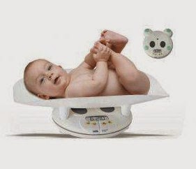 Laica Baby Scale Height Function - Timbangan Bayi