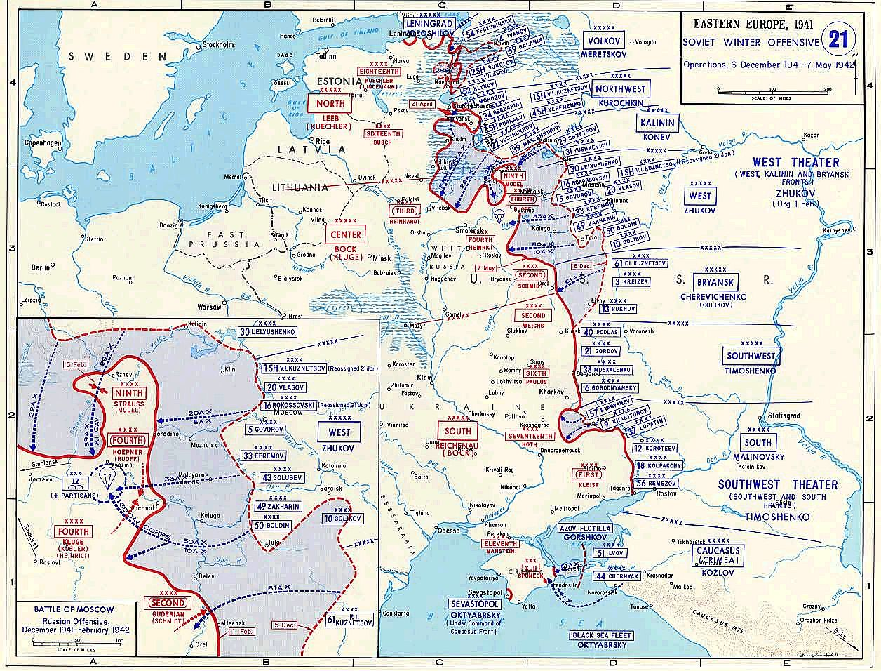 Eastern front 1941