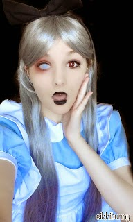 Alice in the Horror Land: Halloween Special- Silver Grey Wig
