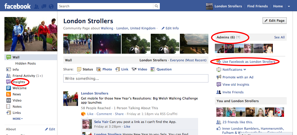 how to make facebook page publicly visible