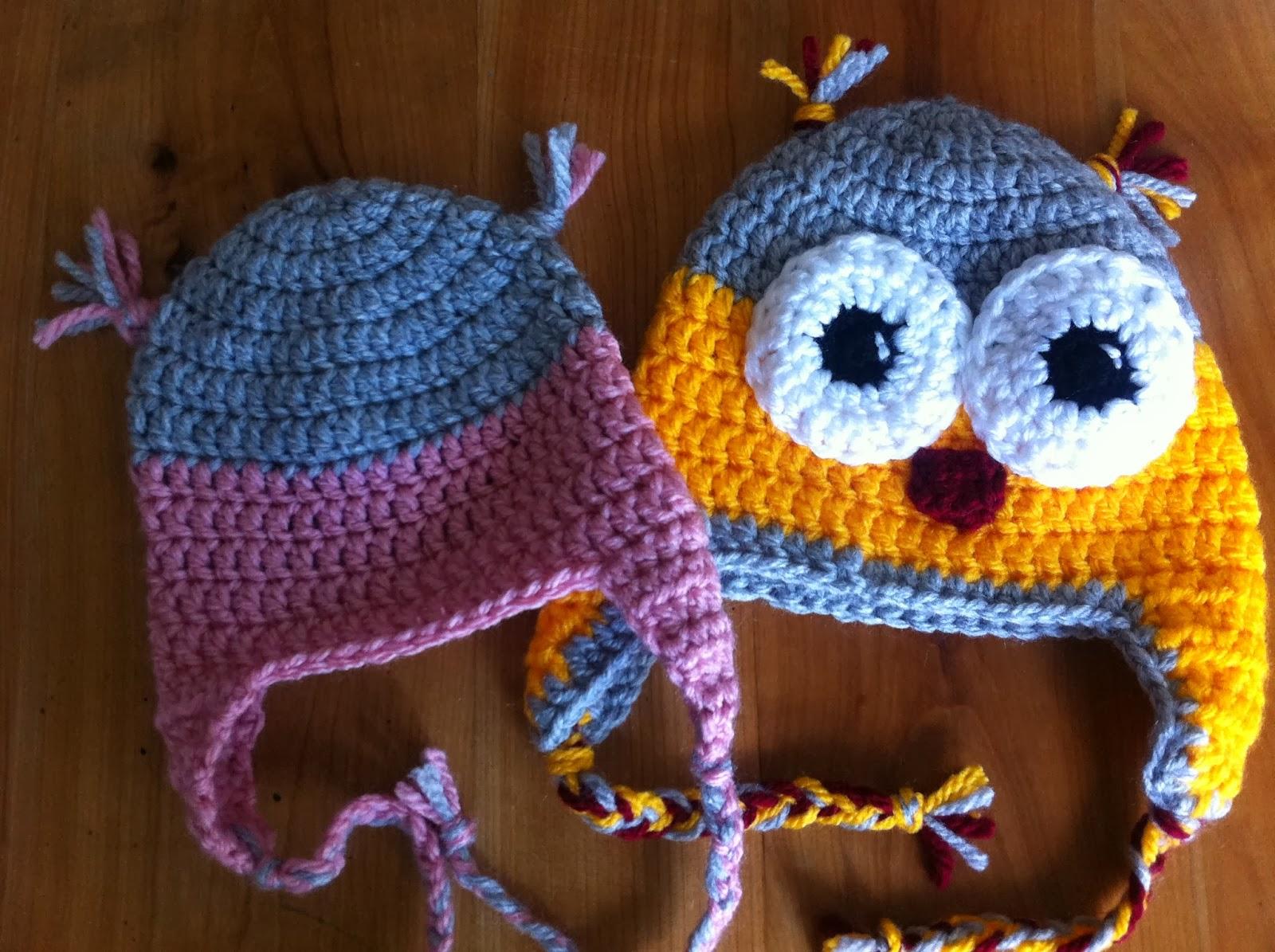 EntreHilos y algo más: Como hacer un gorro perrito a crochet (patron ...