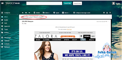 Shopping Zalora Lagi??