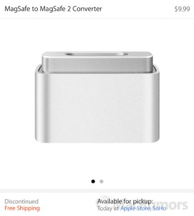 Ssstt, Apple Stop Penjualan Konverter MagSafe to MagSafe 2