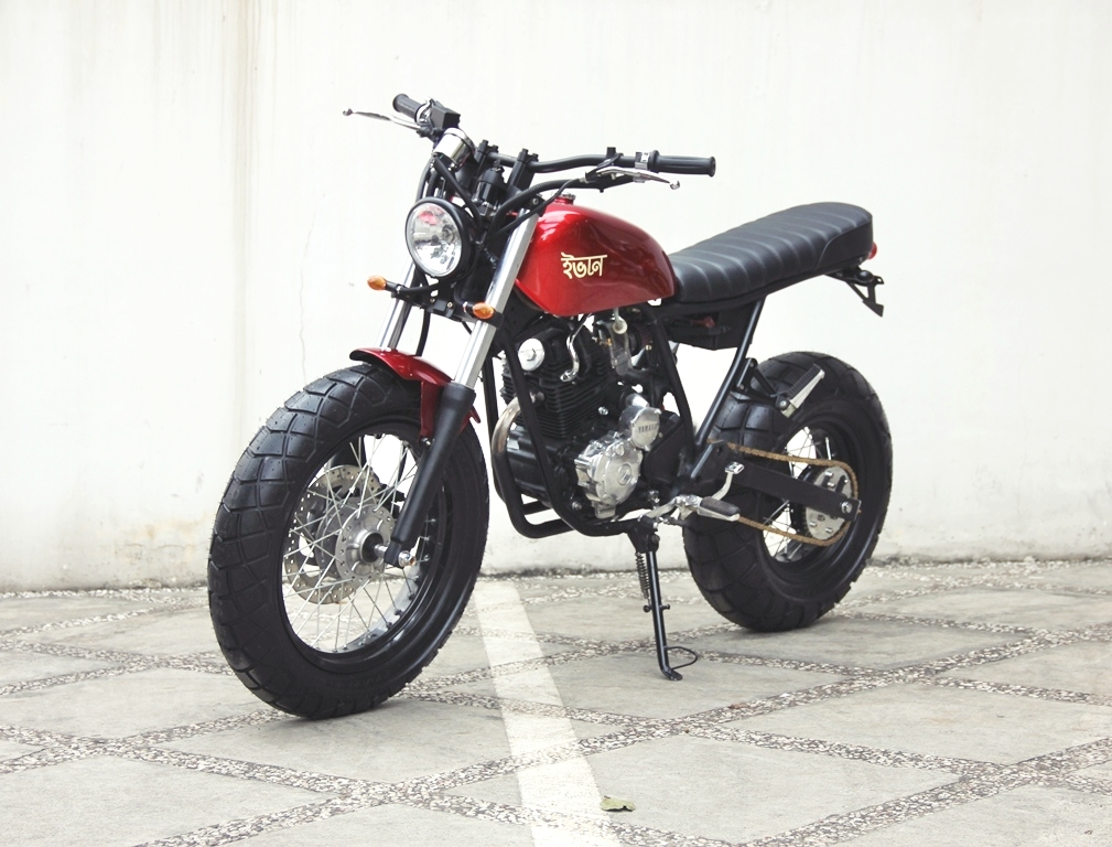 Racing Caf 232 Yamaha Scorpio Quot The Red Tracker Quot By Studio Motor