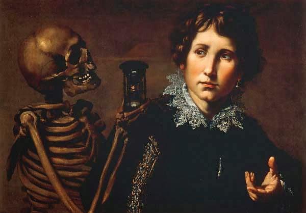 La gioventù sorpresa dalla morte, ca. 1640-50