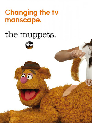 The Muppets Teaser Television Poster - Fozzy Bear