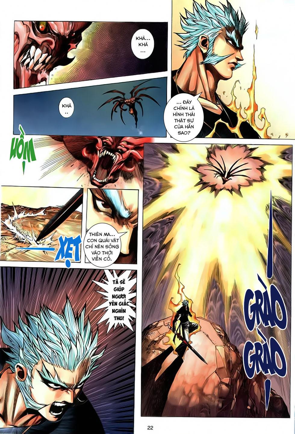 Chiến Thần Ký chap 39 - Trang 23