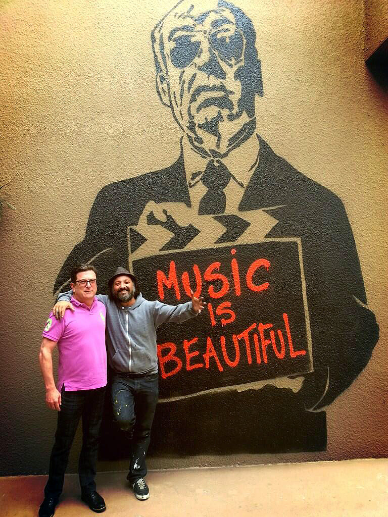Mr brainwash new murals in palm springs usa for Mural mr brainwash