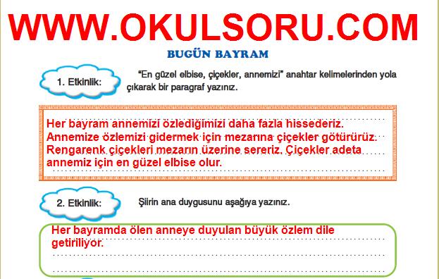 5.Sınıf FCM Yayınları Türkçe Çalışma Kitabı 163.Sayfa Cevapları