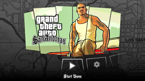 Grand Theft Auto: San Andreas v1.0 for iPhone/iPad