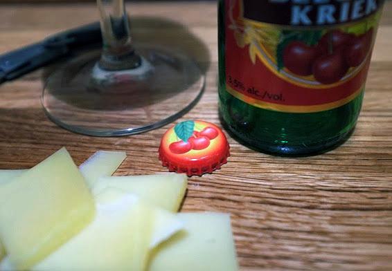 Бельгийское вишневое пиво Belgian Kriek