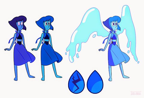 Lapis Lazuli Steven Universe Character Sheet