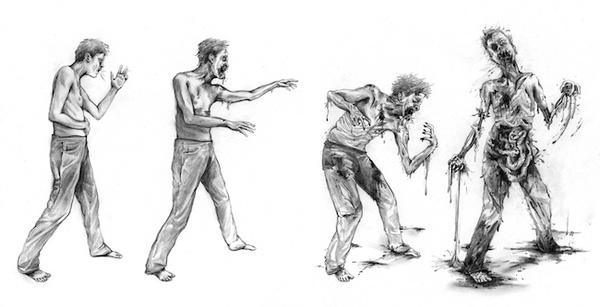 autopsia zombie fases