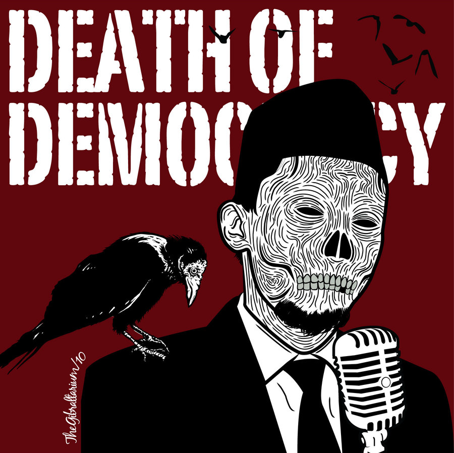 death of democracy | by gibraltarium