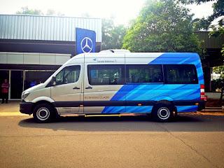 15 Unit Mercedes Sprinter Kepada Garuda Indonesia