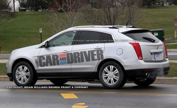 2013 Cadillac SRX hybrid