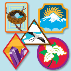 how to make your own scout badges