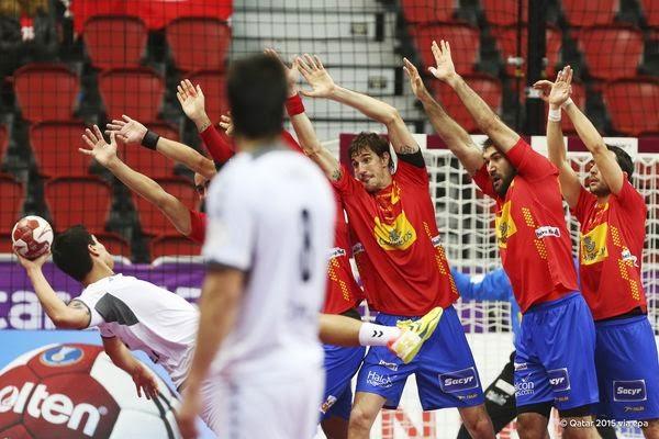españa-chile: Mundial Qatar2015 - Handball