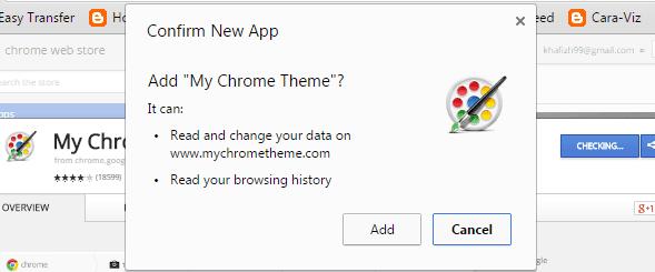 Cara Mudah Membuat Tema Chrome Sendiri