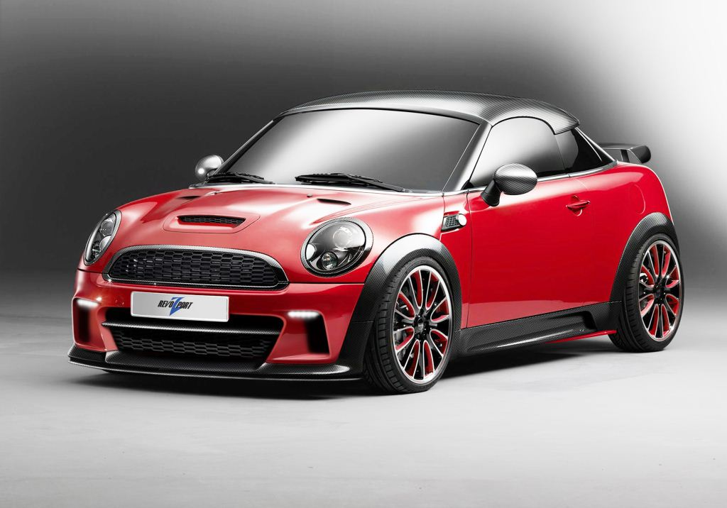 street edge performance revozport 2012 mini cooper s coupe r58 aero kit. Black Bedroom Furniture Sets. Home Design Ideas