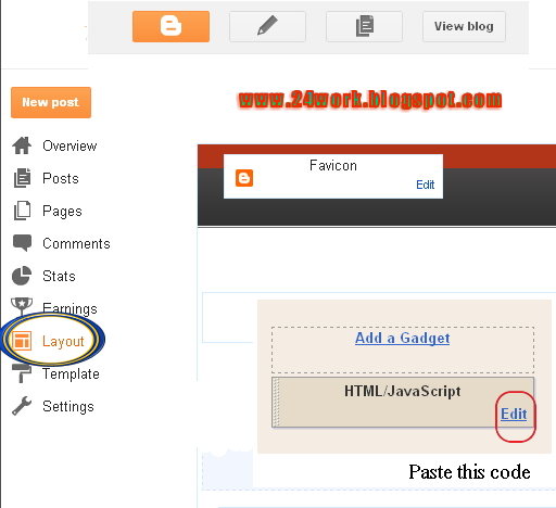 If you're using the new Blogger interface: Go to Dashboard - Layout - Add a Gadget