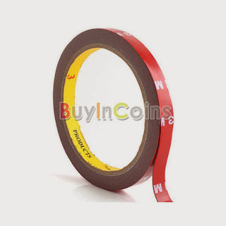 3M Auto Acrylic Foam Sided Double Attachment Tape 10mm