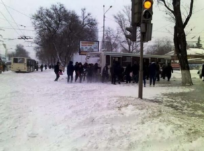 On Friday, January 30th, it snowed so much in the Rostov region a state of emergency was announced.