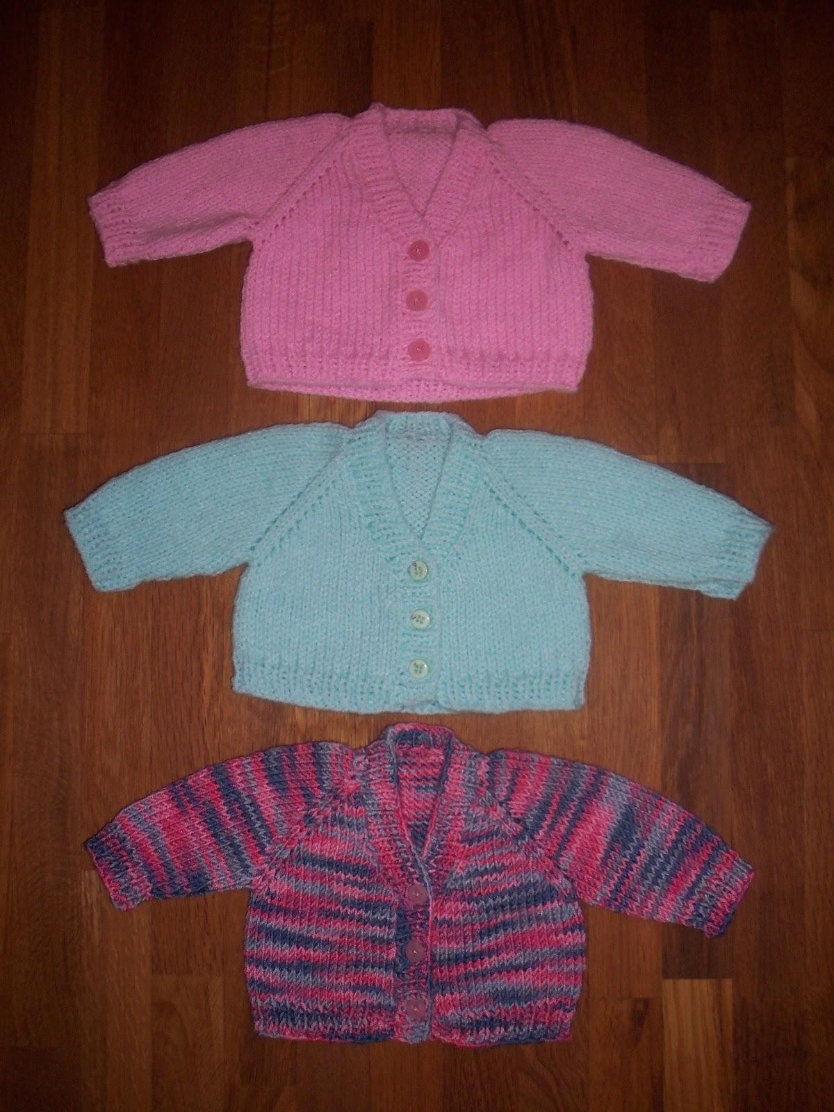 Atractivo Simple Baby Cardigan Knitting Pattern Free Patrón - Manta ...