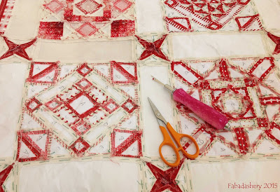 English Paper Piecing - removing the paper