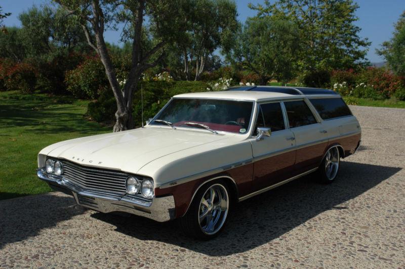 Daily Turismo: 10k Flash: 1964 Buick Skylark Sportwagon Restomod