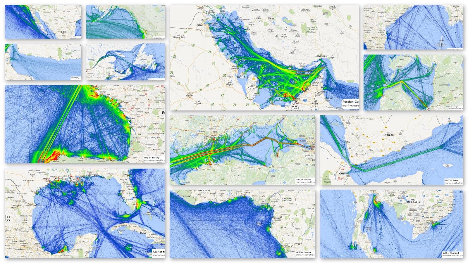 Gulfs and Bays