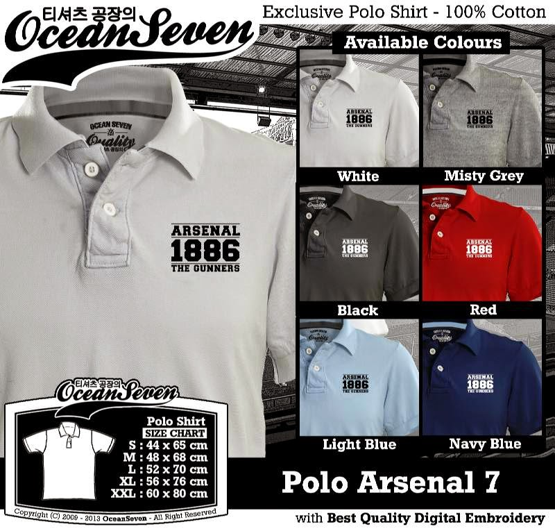 Kaos Polo Arsenal 7