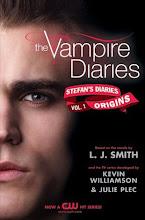 Stefans Diaries, första  boken!