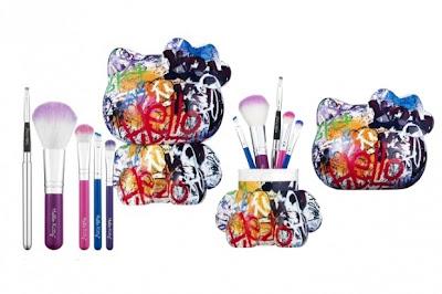 Graffiti Eyeshadow and Blush Palette -Hello Kitty