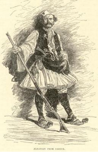 'Mountaineer of Janina, Albania'