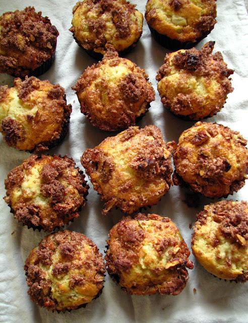 Muffins aux poires et pacanes