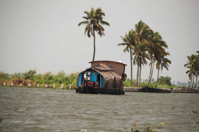 Holiday in Kerala, Part 1 - Houseboat at Allepy