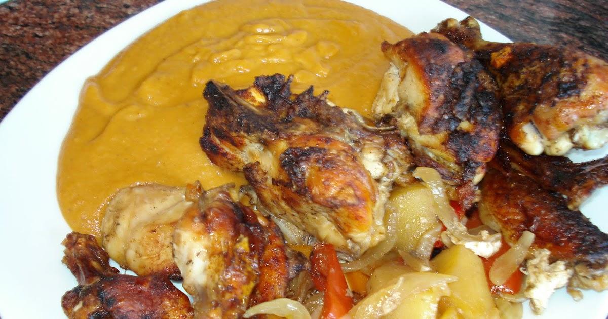 Mi cocina de recetas variadas pollo asado con salsa de - Salsa para pollos asados ...